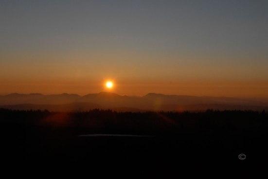 Sunset, Crater Lake