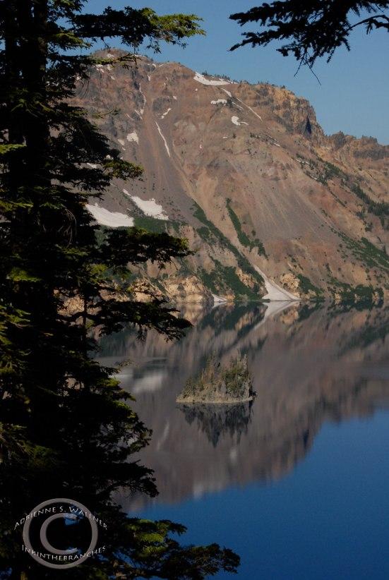 The Phantom Ship, Crater Lake, OR