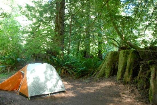 Lovin' this campsite!