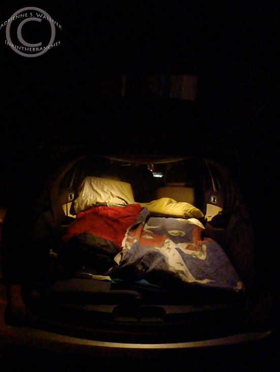 The mobile bedroom
