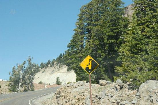 Risky, rocky business -straight ahead.
