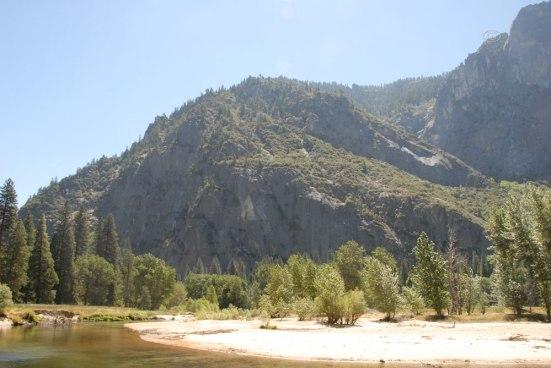 Along the Merced River