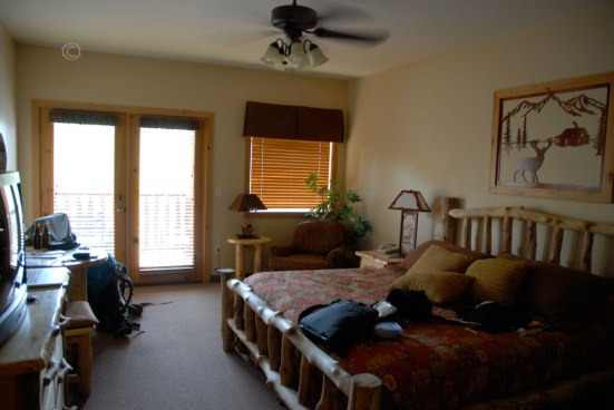Our lovely room.
