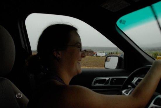 Driving through Utah (Photo by D. R. J.)