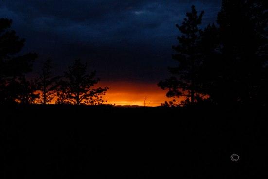 Sunset at Bryce Canyon