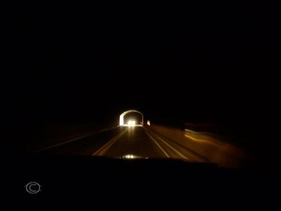 Woo hoo! In Zion- Mount Caramel Tunnel!  (Photo by D. R. J.)