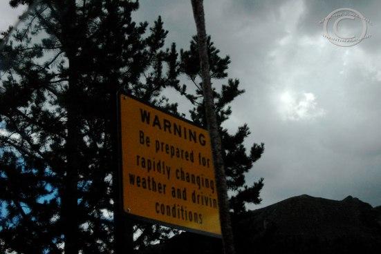 Cautionary Park Signage