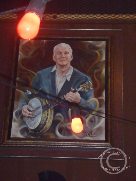 Any place with Steve Martin on the wall has to be good!