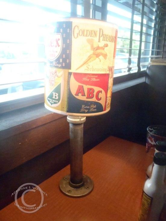 Cool beer label lamos.