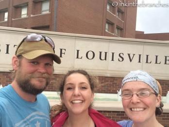 University of Louisville visit