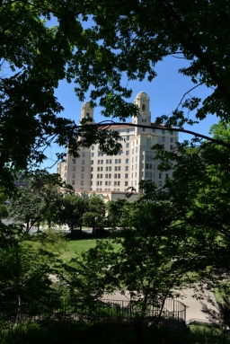 View of Arlington from the Promenade Terrace
