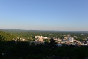 View from Hot Springs Mountain